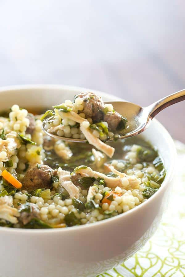 Italian Wedding Soup Recipes With Spinach  Italian Wedding Soup Recipe