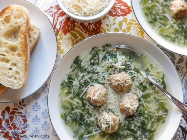 Italian Wedding Soup Recipes With Spinach  italian wedding soup spinach
