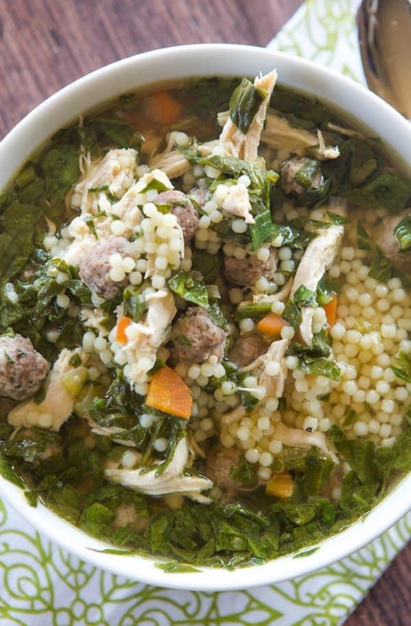 Italian Wedding Soup With Chicken  Italian Wedding Soup Recipe