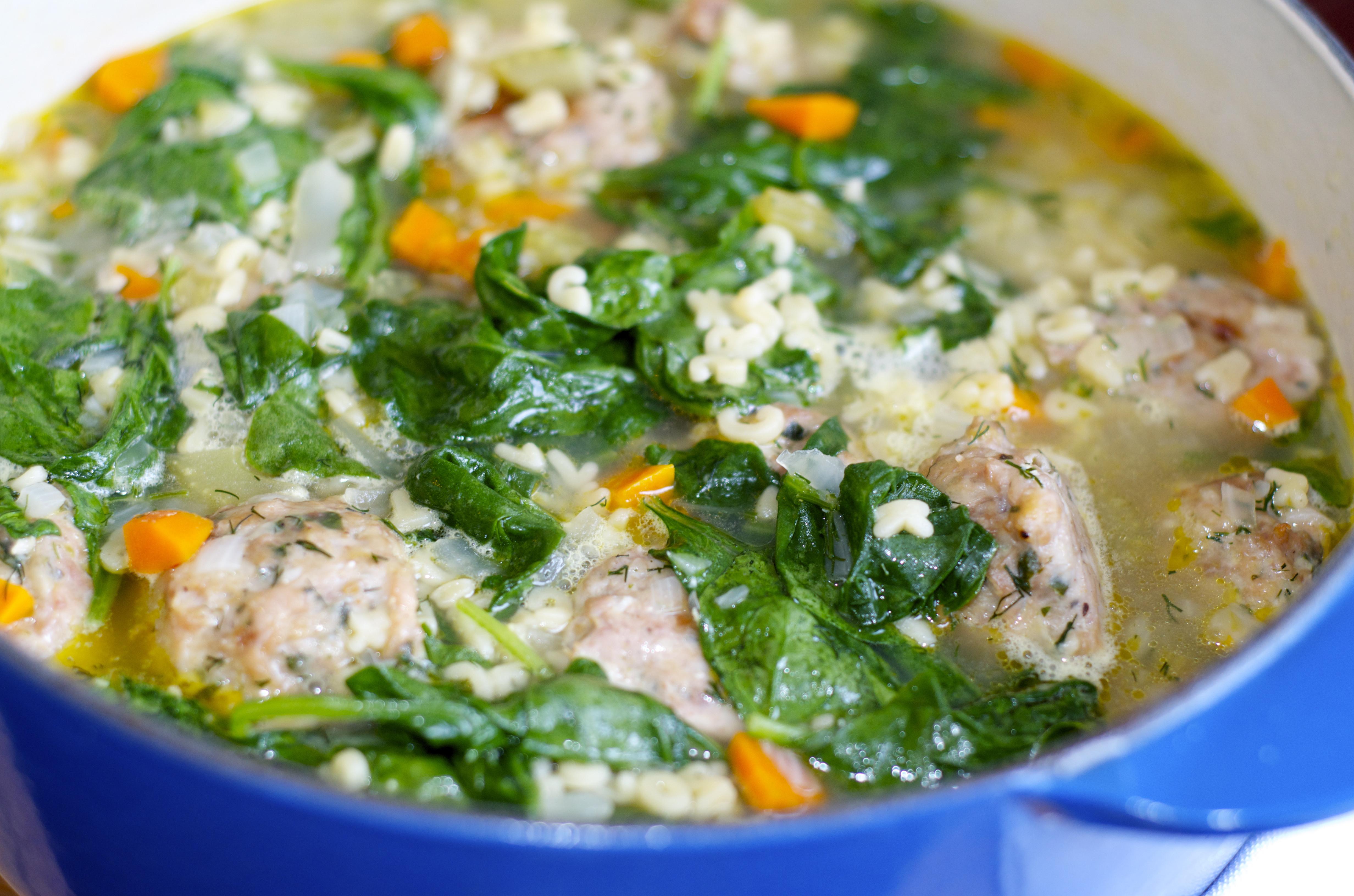 Italian Wedding Soup With Chicken  Italian Wedding Soup pulsive Foo