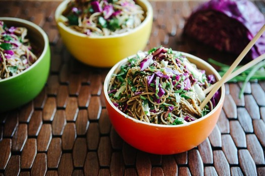 Japanese Summer Recipes  Quick Asian Noodle Salad Recipe