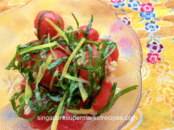 Japanese Summer Recipes  QUICK & SIMPLE JAPANESE SUMMER SALAD RECIPES – GARLIC