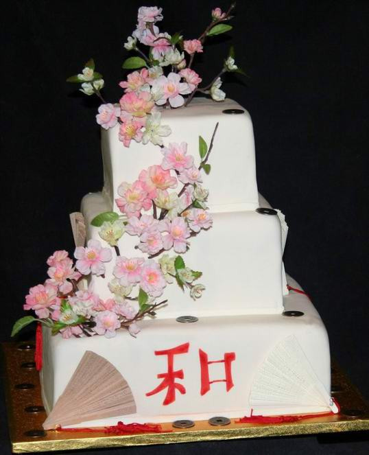 Japanese Wedding Cakes  Inspiring of Asian Wedding Cakes