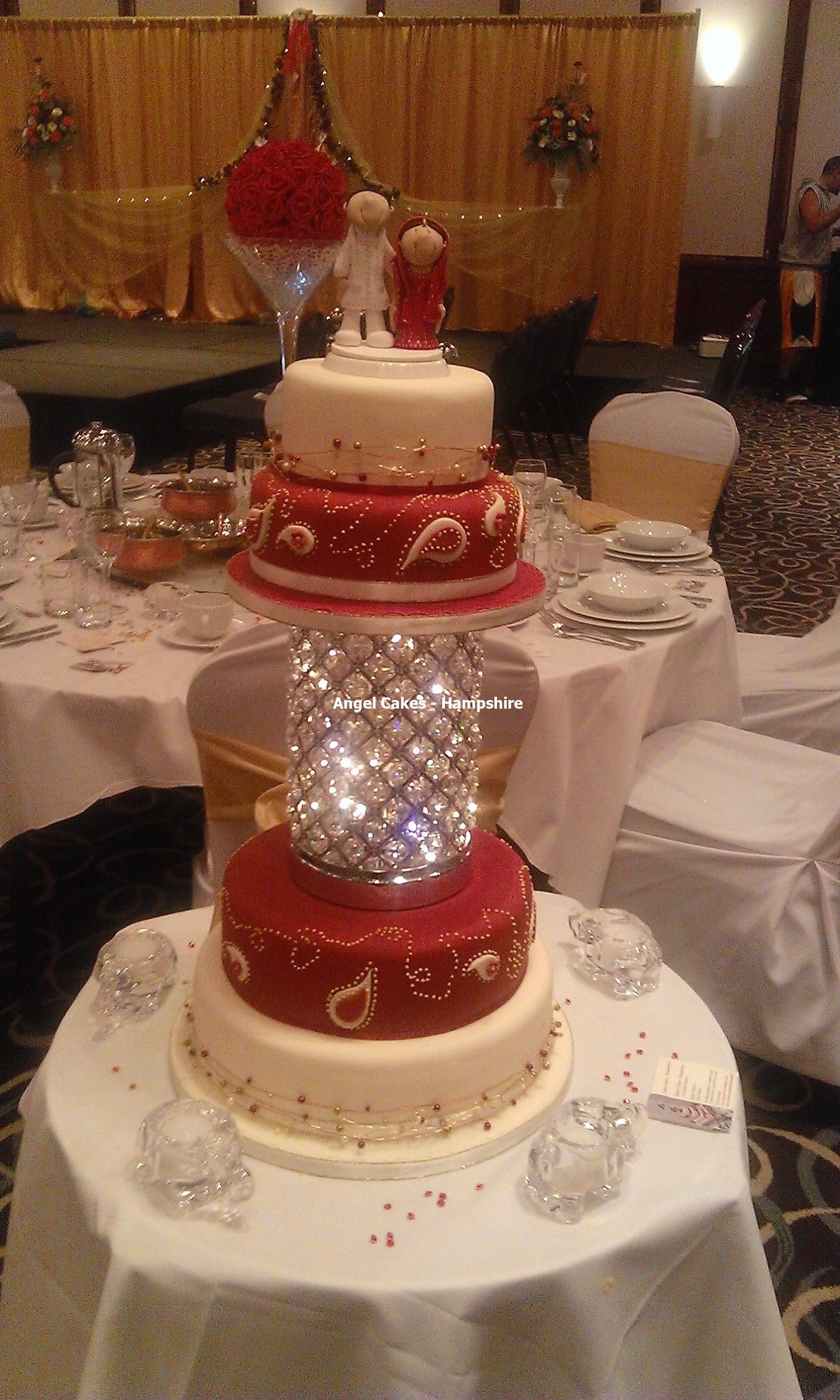 Japanese Wedding Cakes  Wedding Cakes Hampshire Angel Cakes