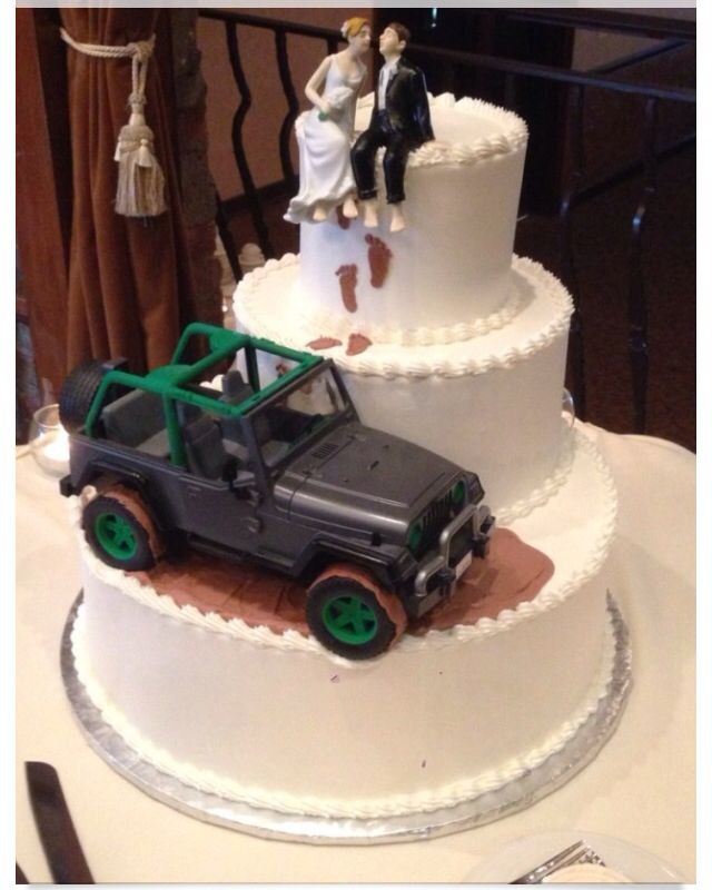 Jeep Wedding Cakes  17 best ideas about Jeep Wedding on Pinterest
