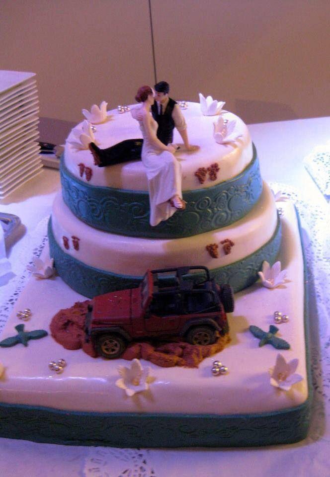 Jeep Wedding Cakes  7 best Jeep CJ8 Scrambler images on Pinterest