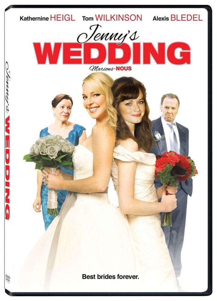 Jenny'S Wedding Cakes  Jenny s Wedding DVD Katherine Heigl Tom Wilkinson