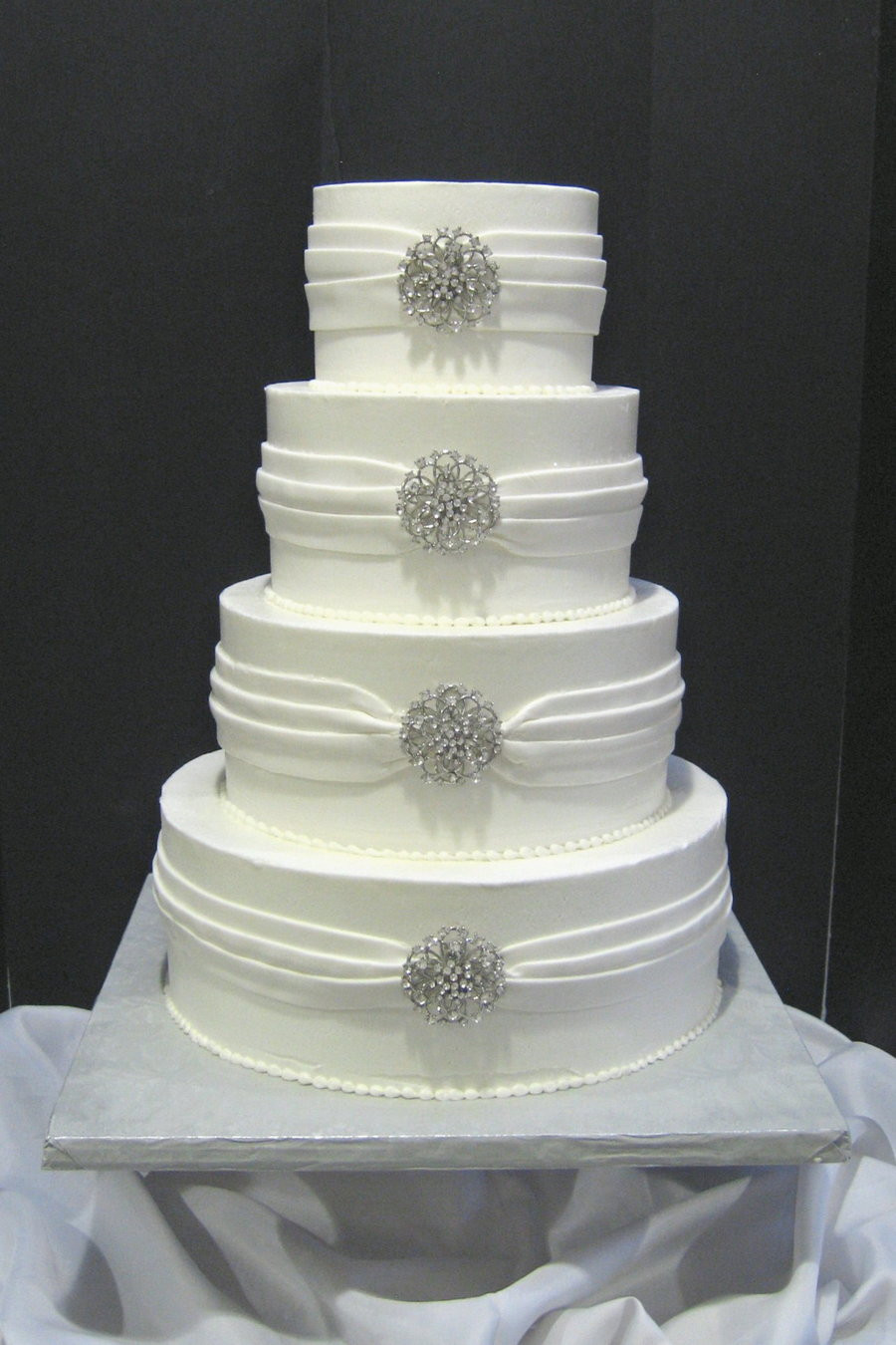 Jewel Wedding Cakes  Jeweled Wedding Cake CakeCentral