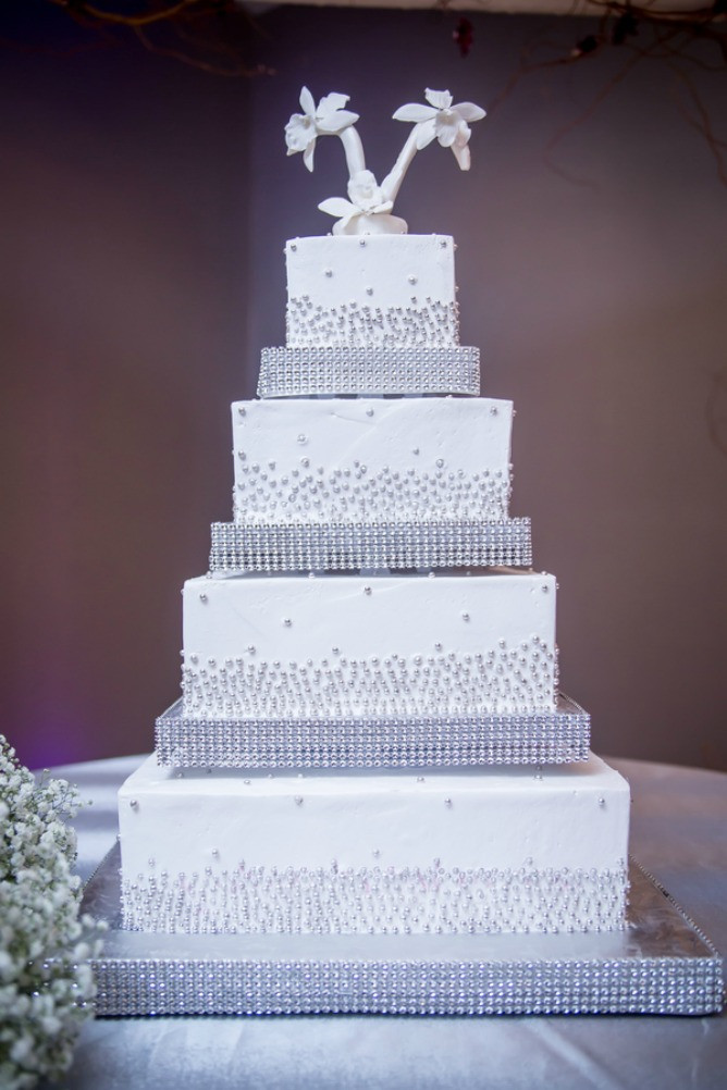 Jewish Wedding Cakes  Atlanta Elegant Modern Jewish Wedding