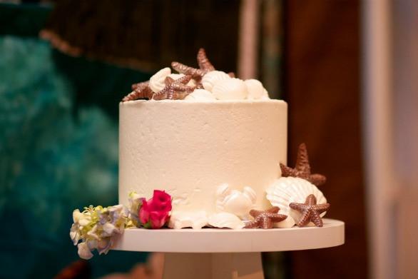 Jewish Wedding Cakes  Maryland Beach Modern Jewish Wedding