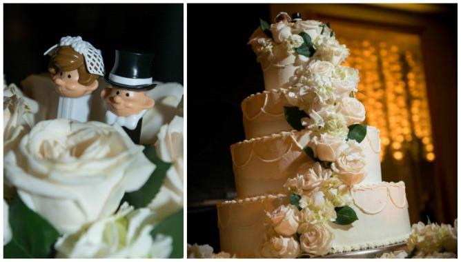 Jewish Wedding Cakes  Long Island Modern Jewish Wedding from EXO graphy