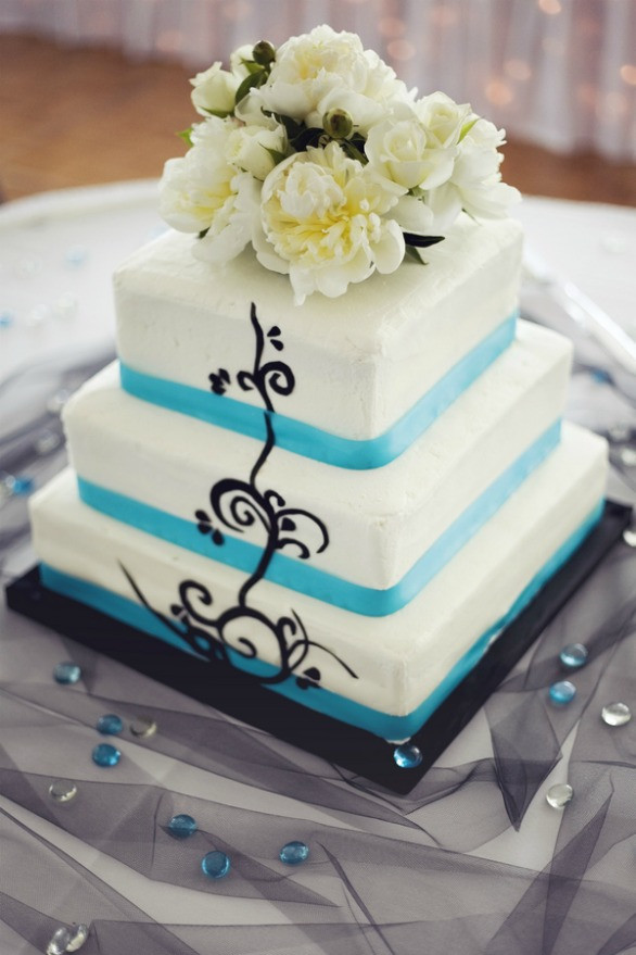Jewish Wedding Cakes  Real Modern Interfaith Wedding from Korto graphy