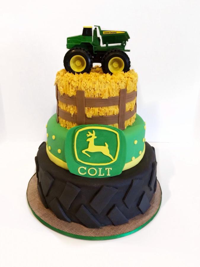 John Deere Wedding Cakes  John deere cake Cake by Sweet cakes by Jessica CakesDecor