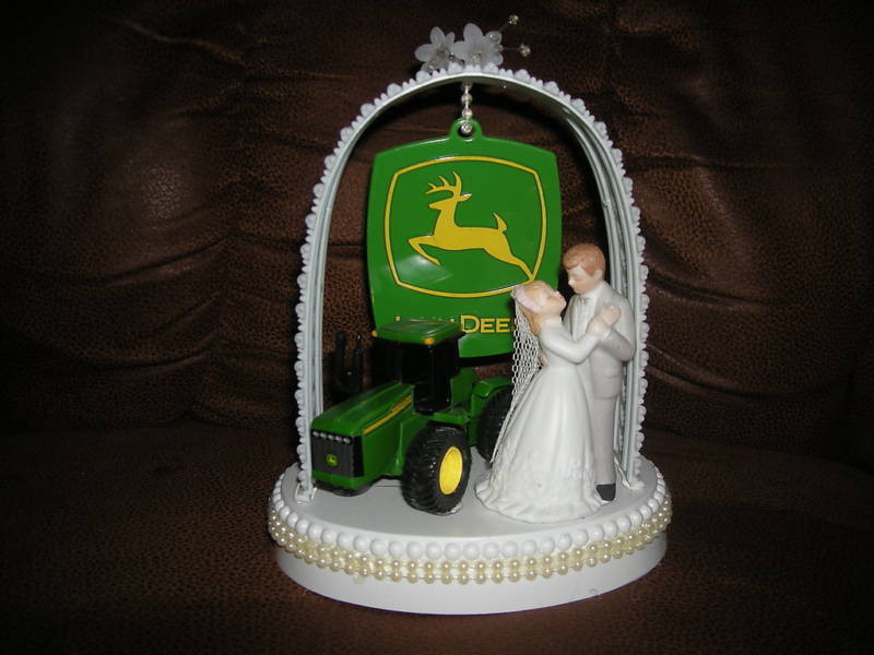 John Deere Wedding Cakes  John Deere Wedding Cake