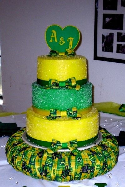 John Deere Wedding Cakes  Wedding Cakes Themetips John Deere Cake wedding postage