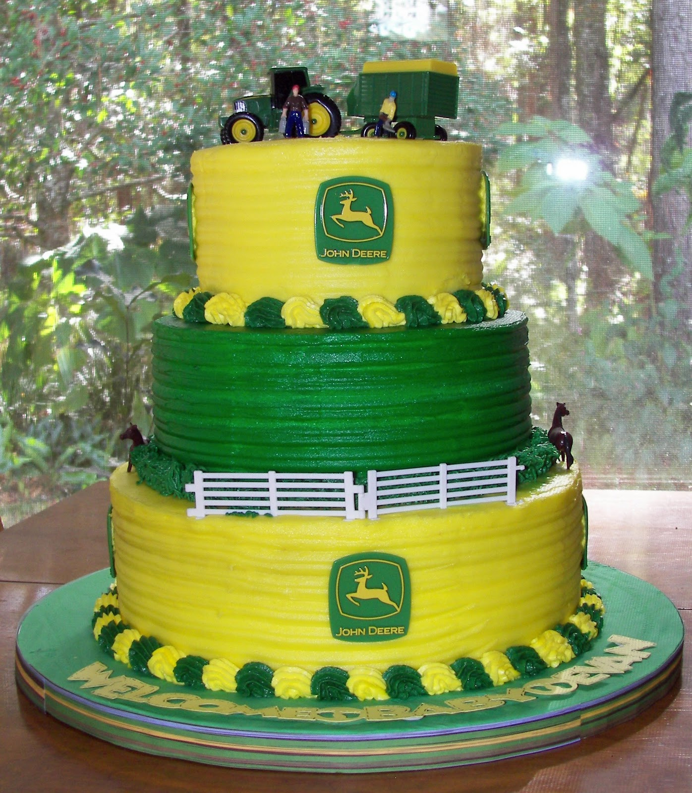 John Deere Wedding Cakes  John Deere Cakes Ideas