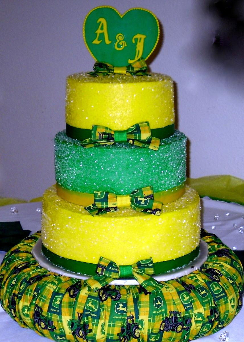 John Deere Wedding Cakes  John Deere Wedding Cake Decorating munity Cakes We Bake