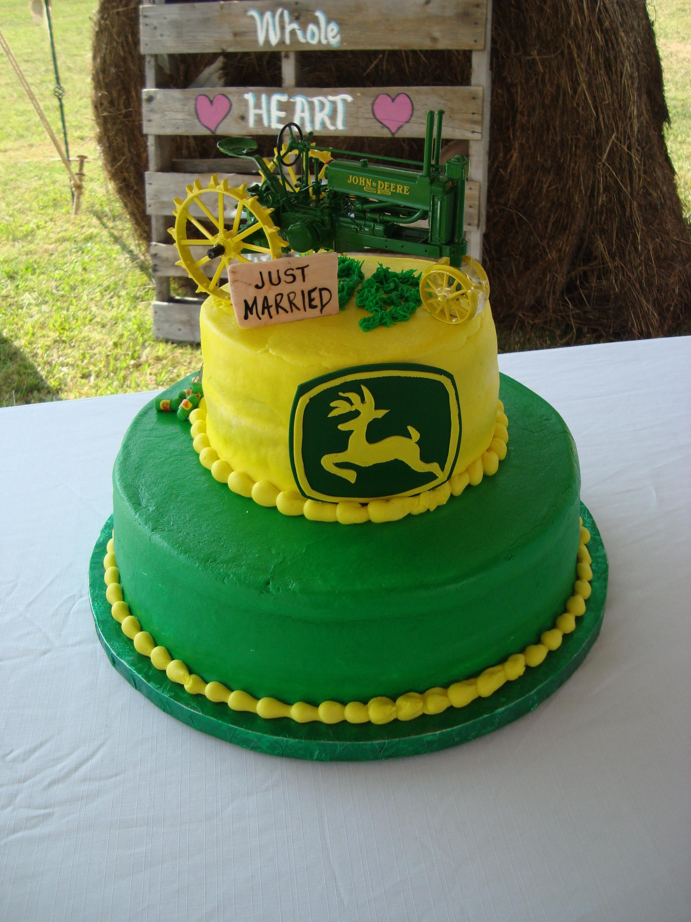 John Deere Wedding Cakes  John deere wedding cakes idea in 2017