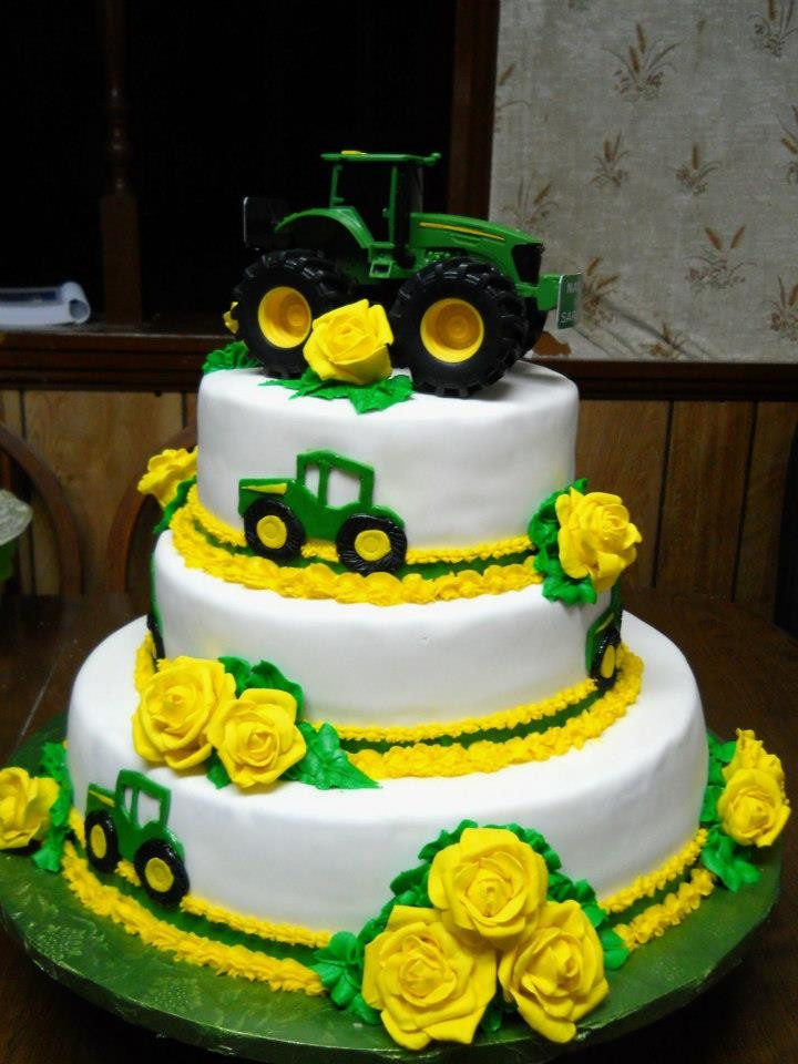 John Deere Wedding Cakes  John Deere Wedding Cake CakeCentral