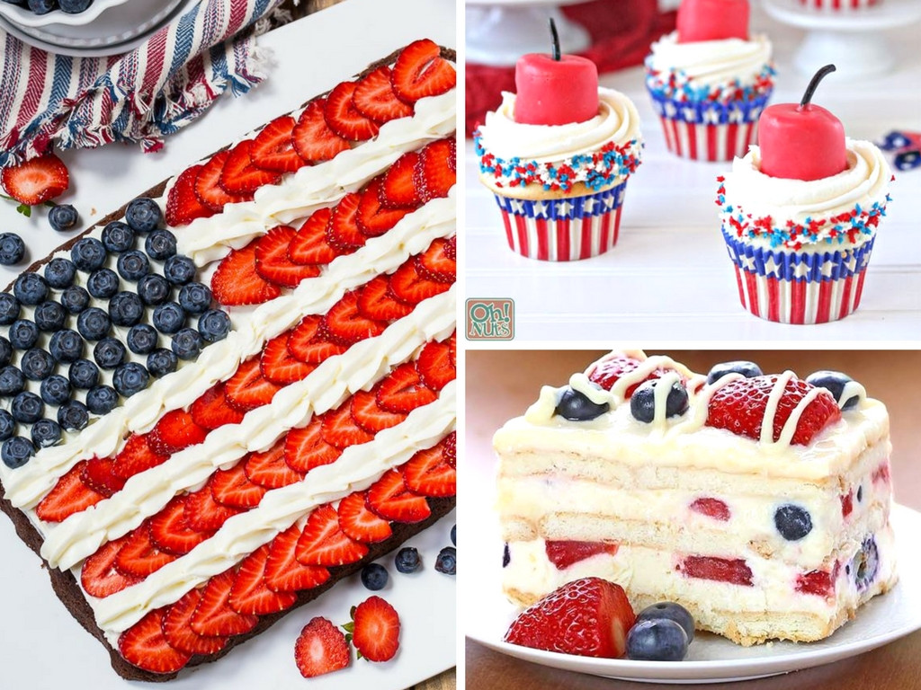 July 4 Desserts  23 Best 4th of July Dessert Ideas That Are Easy