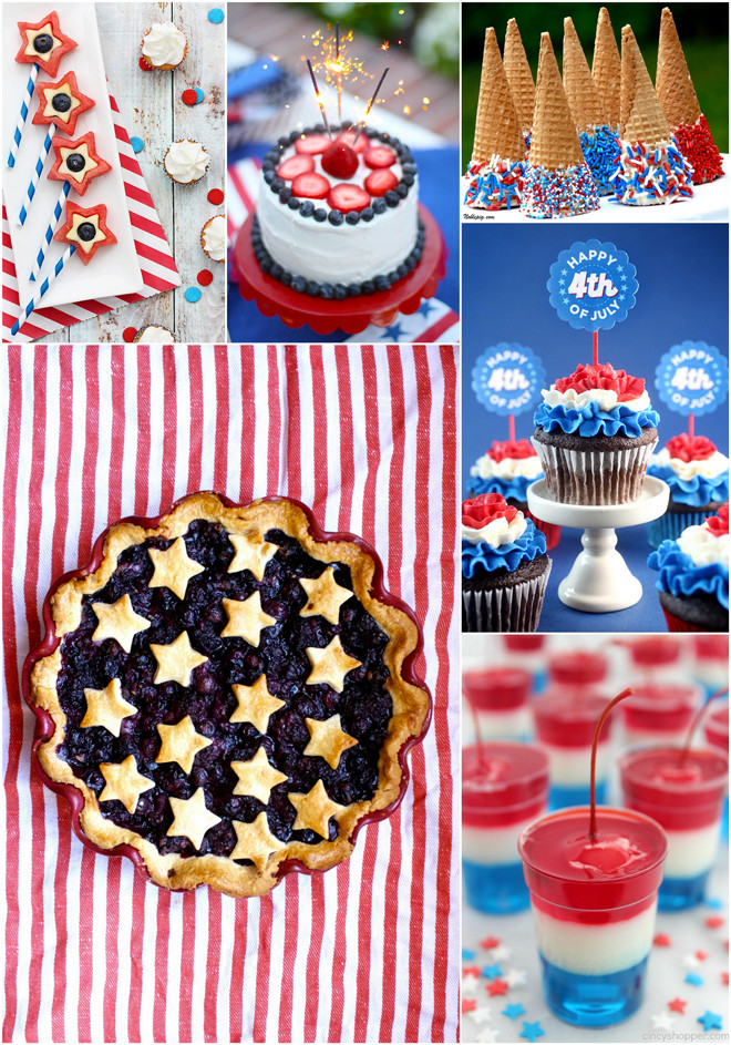 July 4Th Dessert Ideas  4th of July Desserts Fruity Cakes Kid Friendly & More