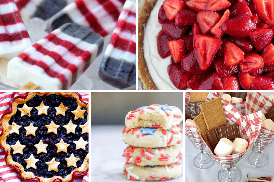 July 4Th Desserts  Easy Elegant 4th of July Desserts TINSELBOX