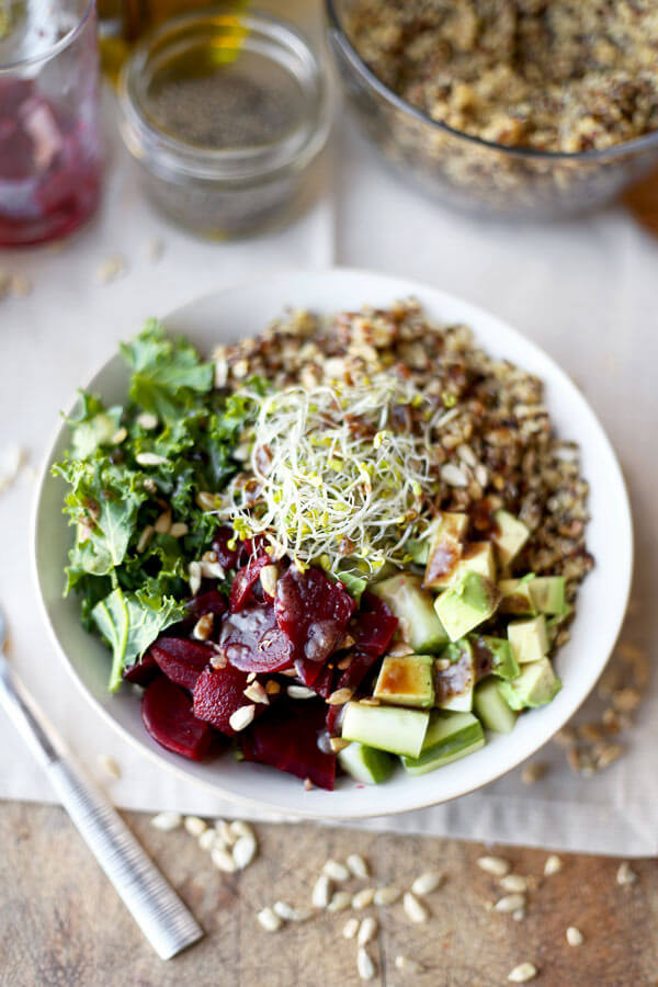 Kale Recipes Easy Healthy  Detox Kale and Quinoa Salad Recipe Pickled Plum Food And