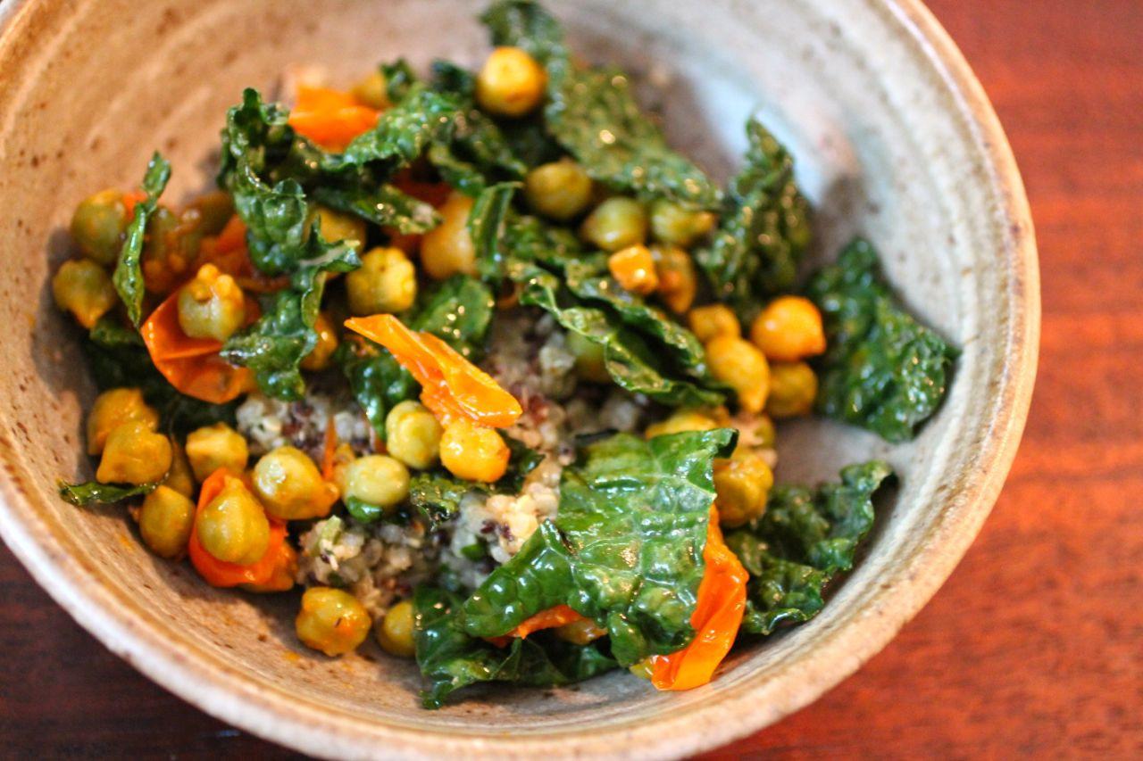Kale Recipes Easy Healthy  [Recipe] How to Make Vegan Fresh Kale Pesto Quinoa and