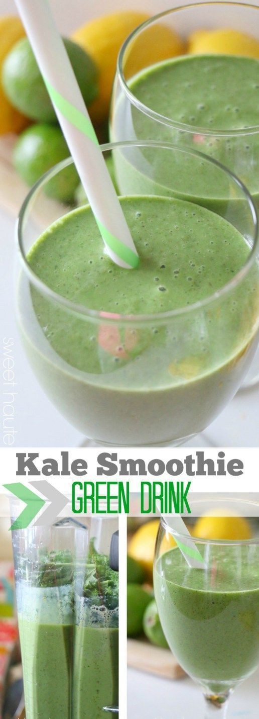 Kale Smoothie Recipes Healthy  17 Best images about Delicious Vegan Recipes on Pinterest