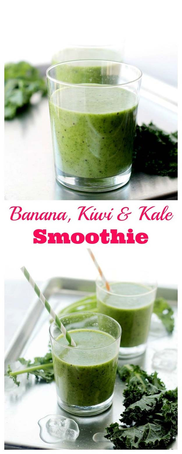 Kale Smoothie Recipes Healthy  33 Healthy Smoothie Recipes The Goddess