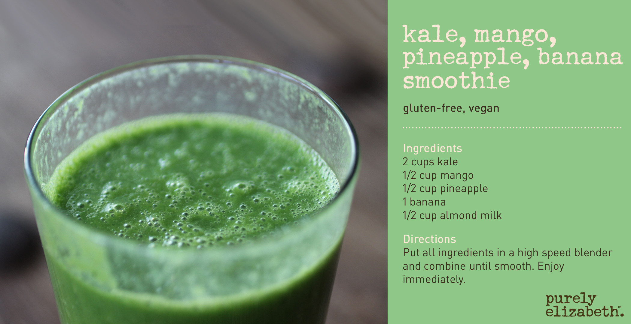 Kale Smoothie Recipes Healthy  4 Healthy Kale Recipes
