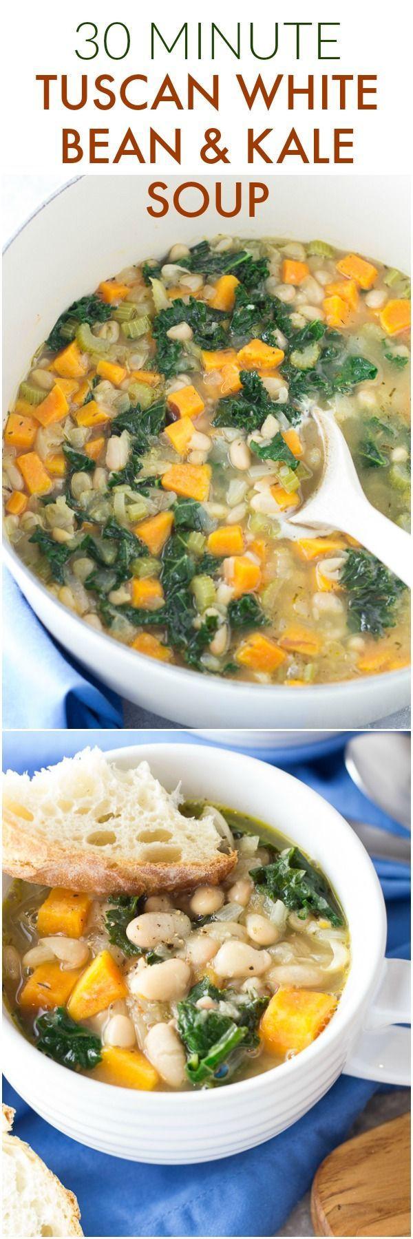 Kale Soup Recipes Healthy  Best 25 Kale soup ideas on Pinterest