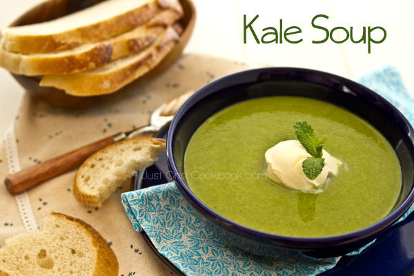 Kale Soup Recipes Healthy  Kale Soup • Just e Cookbook