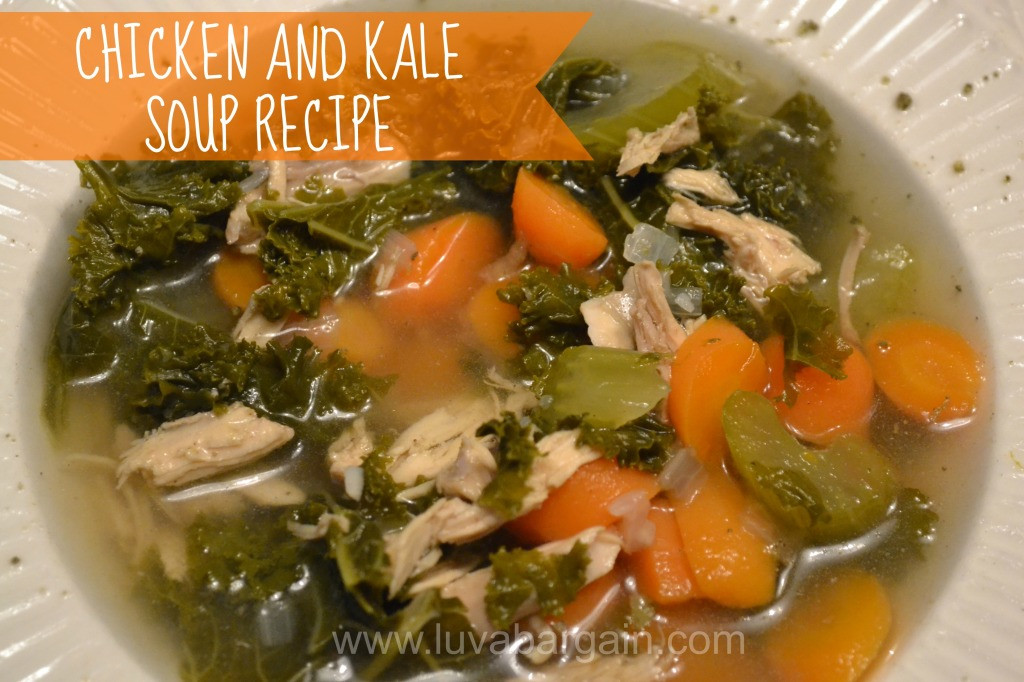 Kale Soup Recipes Healthy  Chicken and Kale Soup Recipe