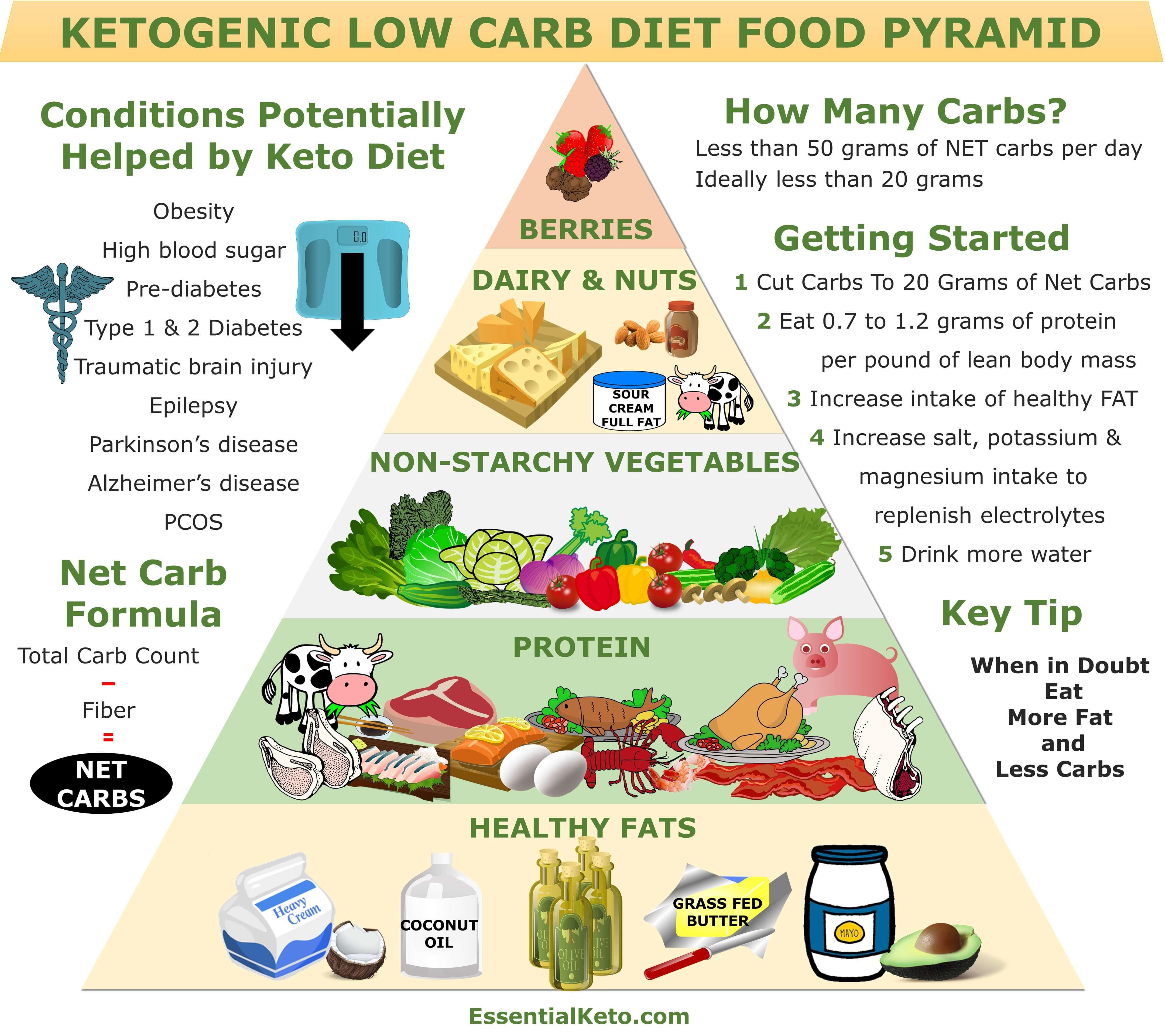 Keto Diet Healthy  Keto Food Pyramid