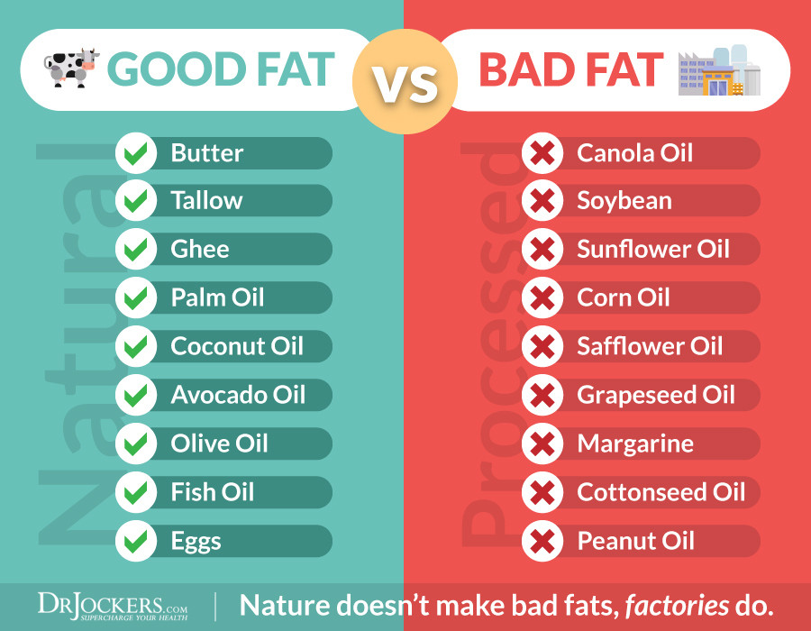 Keto Diet Unhealthy  Top 3 Healthy Fats & Which Fats to NEVER Eat DrJockers
