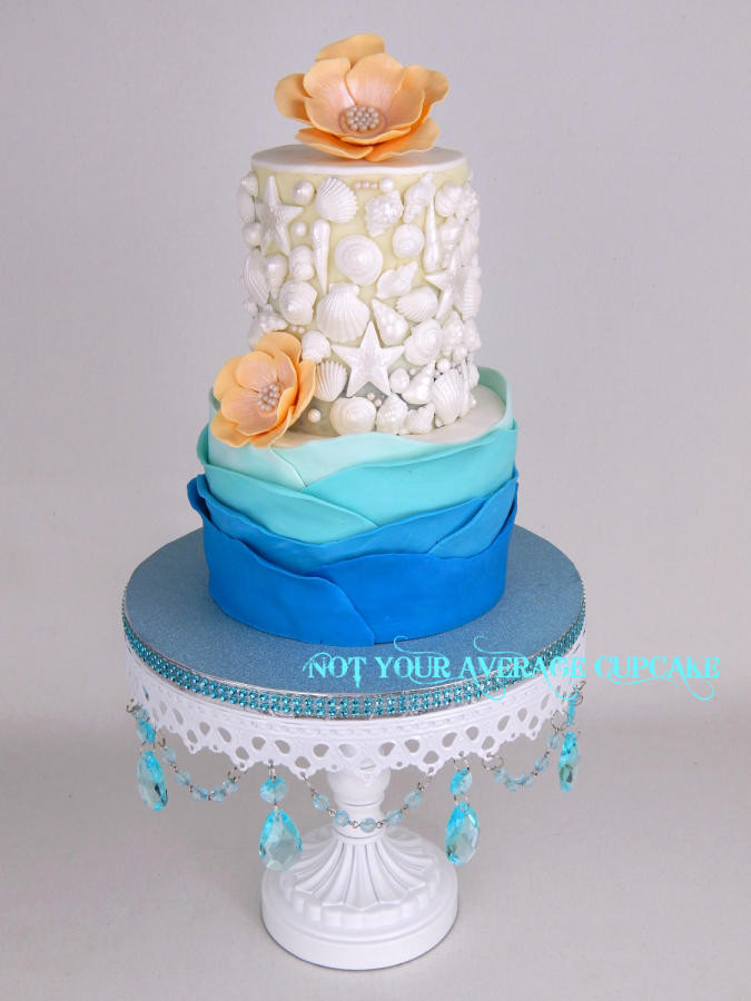 Key West Wedding Cakes  It s a Nice Day for a Key West Wedding cake by Sharon
