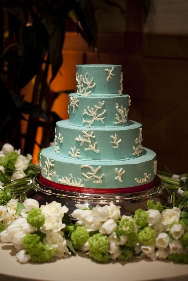 Key West Wedding Cakes  Key Largo Wedding from Pineapple Productions