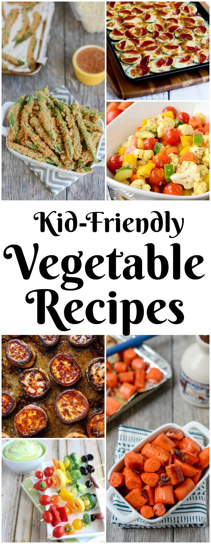 Kid Friendly Healthy Recipes  10 Kid Friendly Ve able Recipes