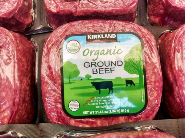 Kirkland Organic Ground Beef  Costco Food Finds for May 2017