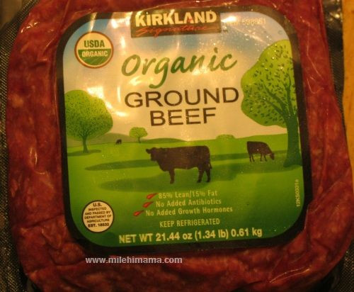 Kirkland Organic Ground Beef  28 best images about Costco Favorites on Pinterest
