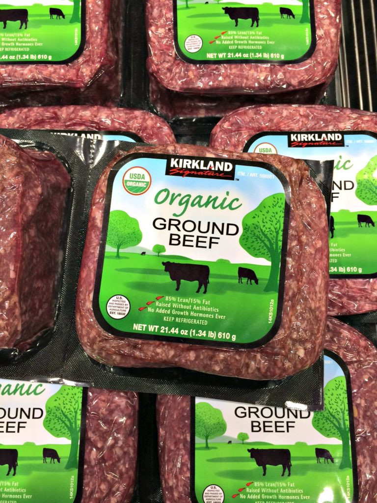 Kirkland Organic Ground Beef  The Best Paleo Products to Buy at Costco Clean Eating