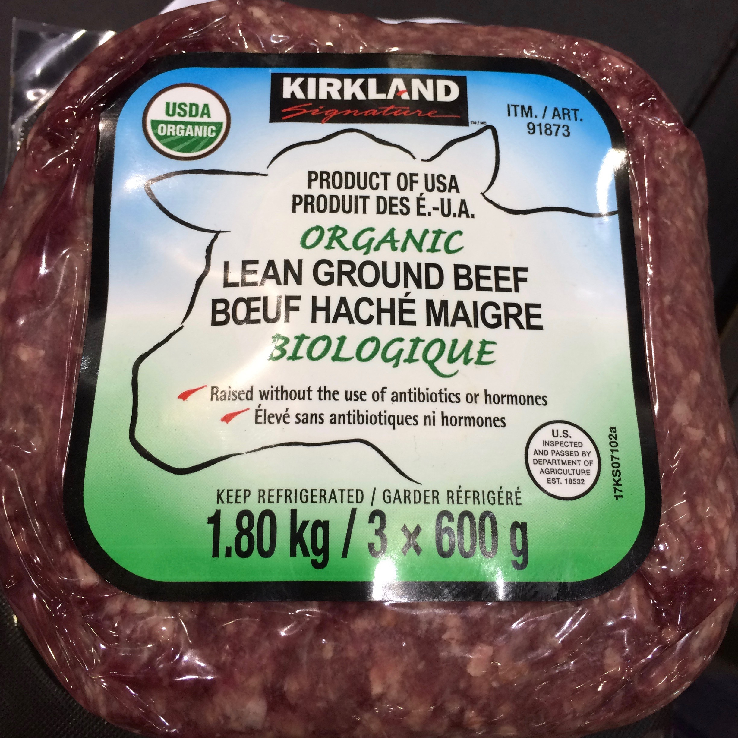 Kirkland Organic Ground Beef  20 By Design Must Haves From Costco