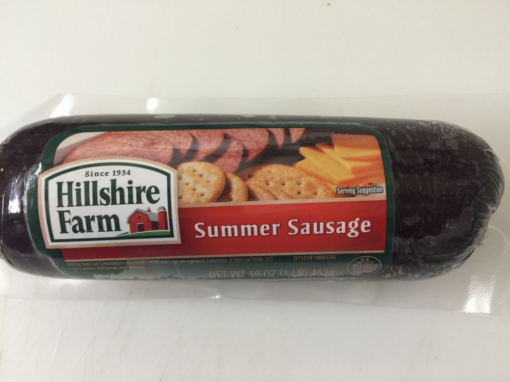 Klements Beef Summer Sausage  Hillshire Farm Summer Sausage FAST SHIPPING