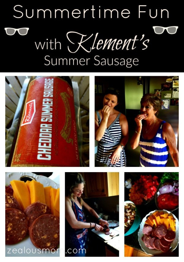 Klements Beef Summer Sausage  Embrace Summertime Fun with Klement s Summer Sausage