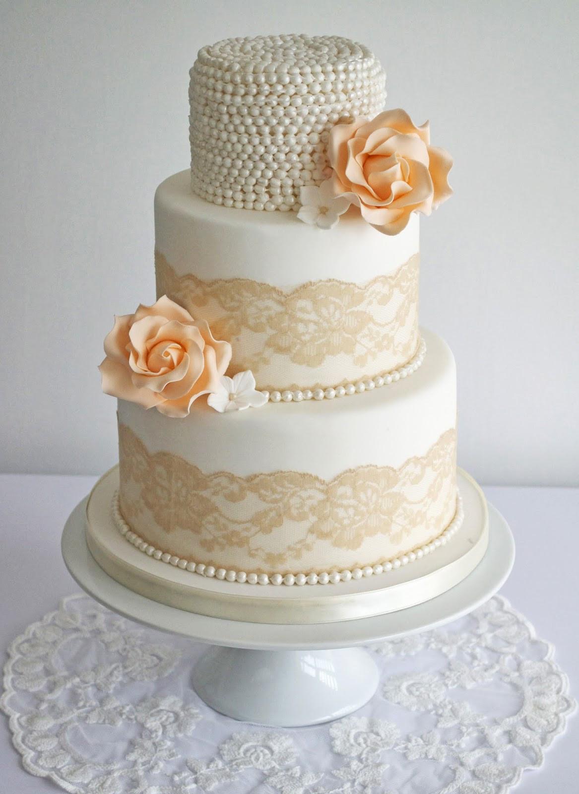 Lace Wedding Cakes  10 Beautiful Wedding Cakes We Love