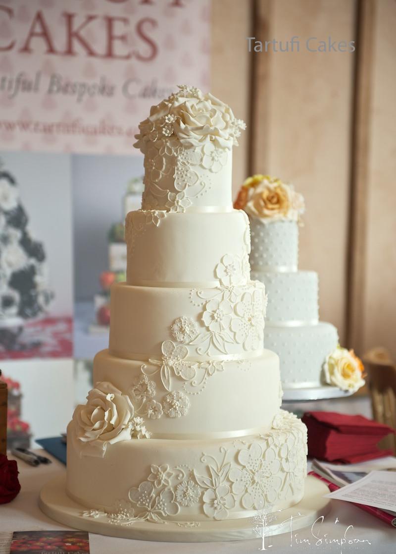 Lace Wedding Cakes  Wedding Cakes Archive