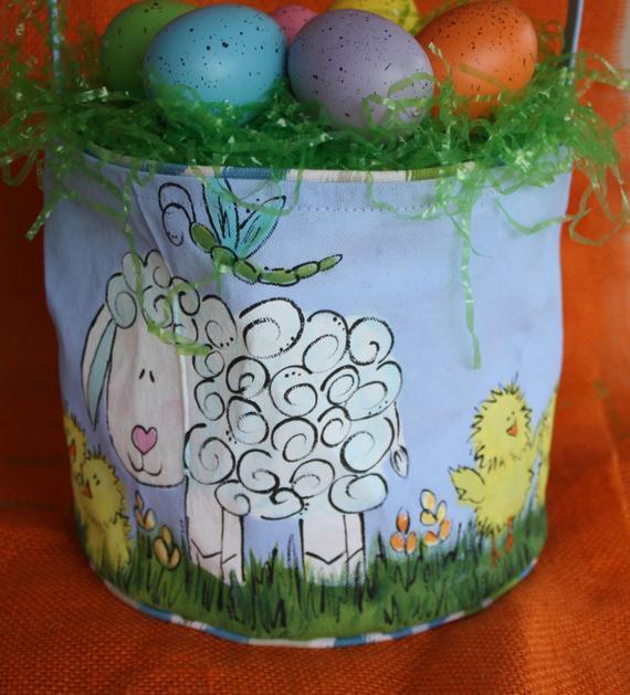 Lamb Easter Basket  Lamb Easter Baskets