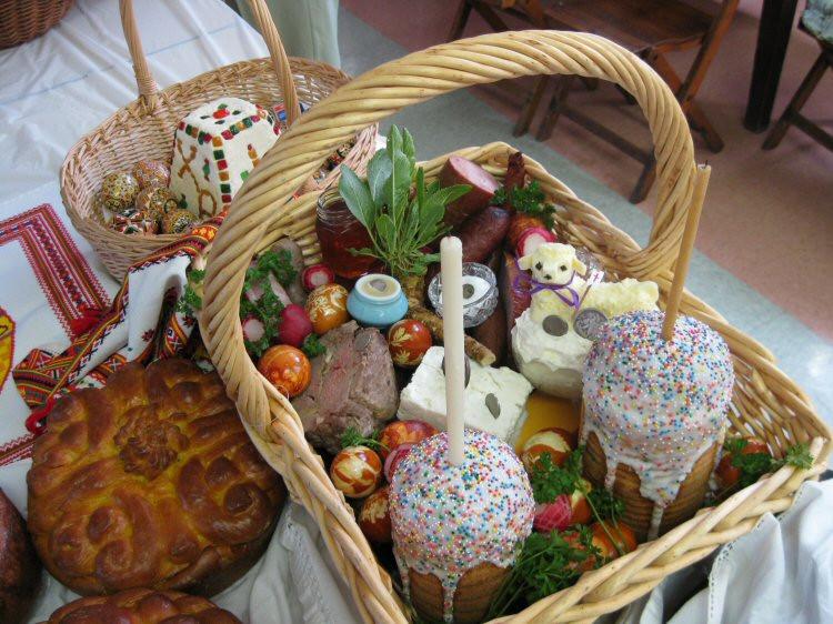 Lamb Easter Basket  Ukrainian Traditions Easter Food – Ukrainian people
