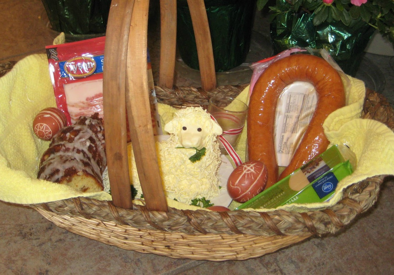 Lamb Easter Basket the top 20 Ideas About Sweet Little Es Easter Favorites